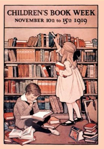 'Children's Book Week 1919' Jessie Willcox Smith Illustration Greeting Card