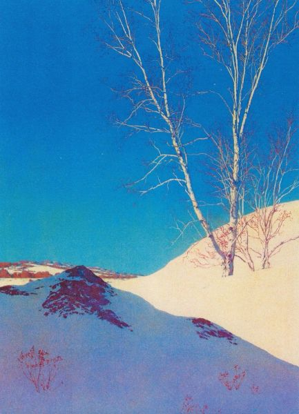 Pack of 10 Bright Blue Winter. Cool Shadows and Winter Sunshine.