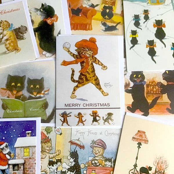 Mystery Christmas Cat Pack. 20 Cards for £10.