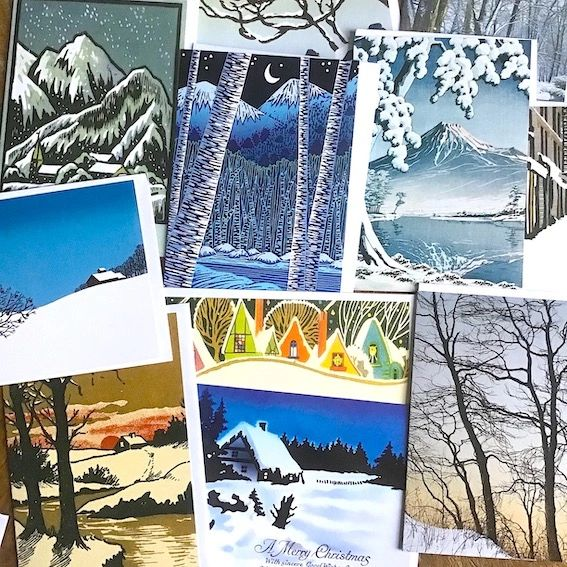 Winter Snowscapes Mystery Mix! 20 Cards for £10.