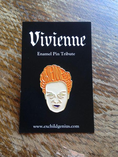 Vivienne Westwood Enamel Pin Badge. Fantastic Full Colour Bronze Metal Pin.