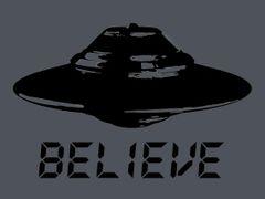 132. Ufo Believe T-Shirt