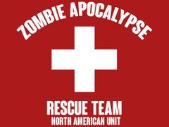 133. Zombie Apocalypse Rescue Team T-Shirt
