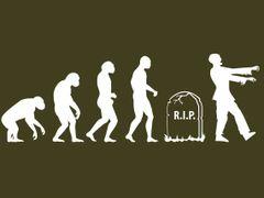 142. Zombie Evolution T-Shirt