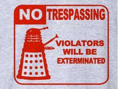 199. Robot Exterminate T-Shirt
