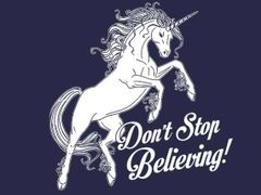038. Dont Stop Believing T-Shirt