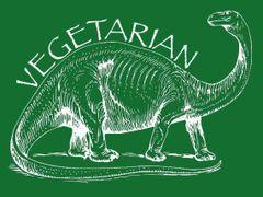 090. Vegetarian dinosaur T-Shirt