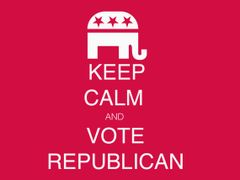 235. Keep Calm Vote Republican T-Shirt