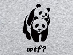 219. WTF PandaT-Shirt