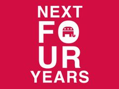 240. Four More Years Republican t-Shirt