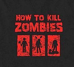 258. How To Kill Zombies T-Shirt