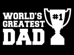 278. Worlds Greatest Dad T-Shirt