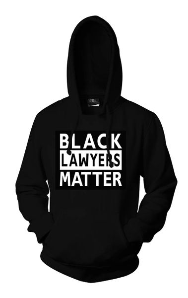 Black Lawyers Matter® Hoodie (Black)