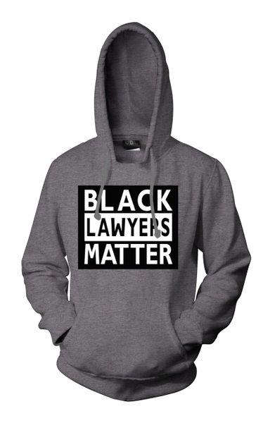 Black Lawyers Matter® Hoodie (KellyGrey)