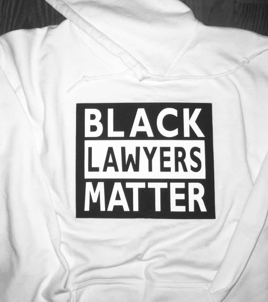 Black Lawyers Matter® Hoodie (limited edition white)