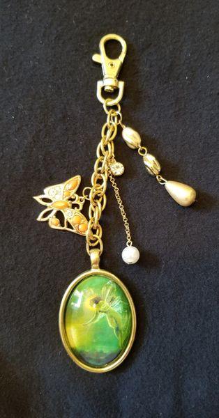 Fairy & Butterfly Purse Charm
