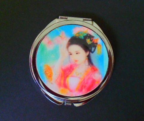 Pastel Geisha Compact