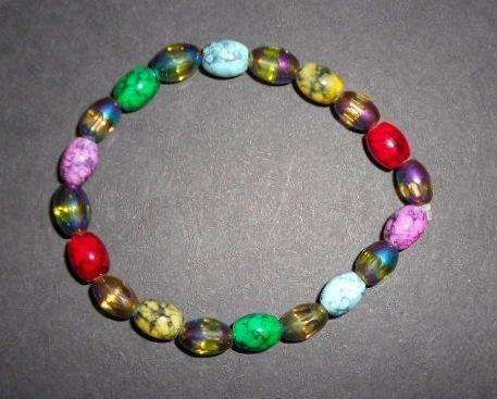 Splashes of Color Stretch Bracelet