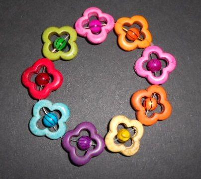 Bright Blossoms Stretch Bracelet