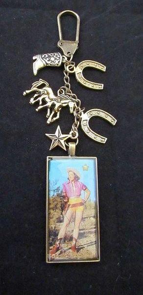 Cowgirl Cutie Purse Charm