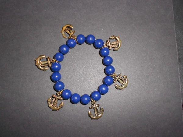 Anchors Aweigh Stretch Bracelet