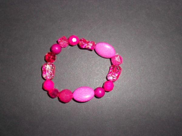 Passion Pink Stretch Bracelet