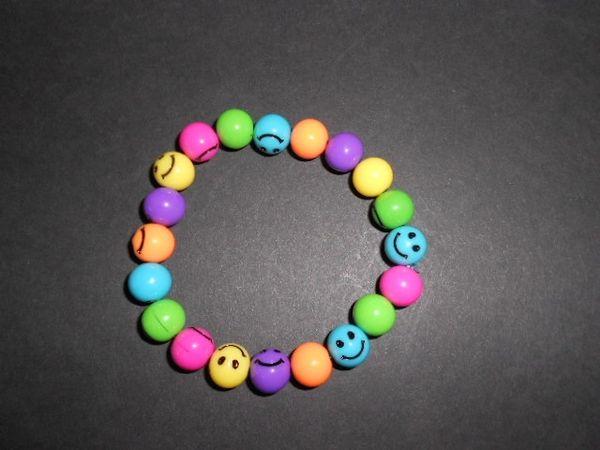 Be Happy Stretch Bracelet