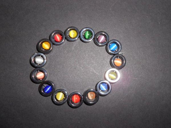 Circles of Color Stretch Bracelet