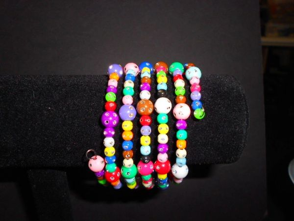 Rainbow Wrap Bracelet
