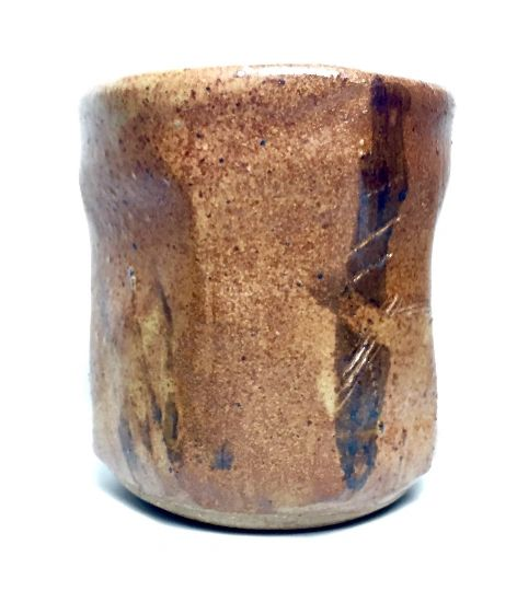 Faceted Reduction Fired Cup