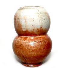 Shino Double Bulger Vase