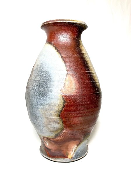 Tall Woodfired Vase 1