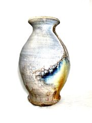 Tall Woodfired Vase 2