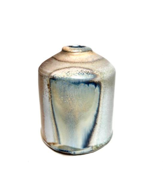 Woodfire Porcelain Bud Vase
