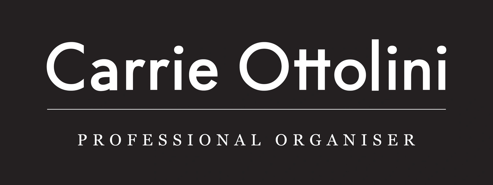 Carrie Ottolini Professional Organiser