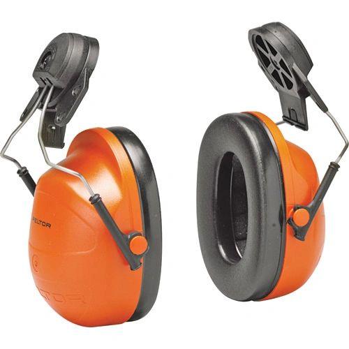 SC170 3M PeltorTM CAP MOUNT NRR dB23 High Visibility Earmuffs #H31P3E ORANGE