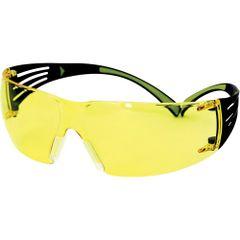 SDL530 Safety Glasses, 3M SecureFit Protective Eyewear Amber Anti-Fog