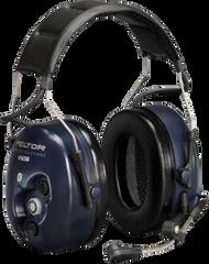 SAM714 3M NECKBAND Bluetooth Wireless 2-Way Radio Headset NRRdB 25 PELTOR #MT53H7BW52 BLUE