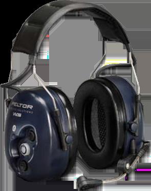 ***DISCONTINUED***SAM714 3M NECKBAND Bluetooth Wireless 2-Way Radio Headset NRRdB 25 PELTOR #MT53H7BW52 BLUE