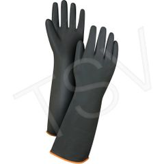 "SAP220 RUBBER, NATURAL-14"" LATEX HEAVYWEIGHT GLOVES ZENITH (ALSO 18"" AVAIL.)"