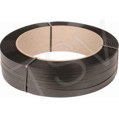 "PF074 Polypropylene Strapping 5/8""W 6""Wx16""CORE MANUAL 4400' 1100BRK Strength BLACK SAMUEL #H58110EMB044B6"