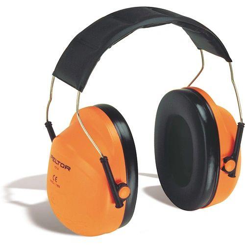SC169 3M PeltorTM NRRdB 24 High Visibility Over-the-head Earmuffs#H31A ORANGE