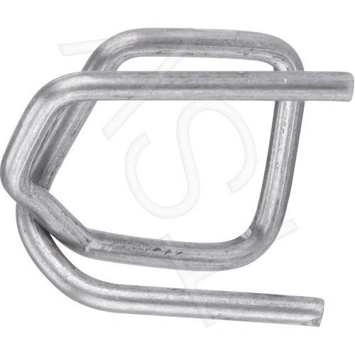 """PA501 Buckles, STEEL Wire 1/2""""Width 2000/BOX CORDEX (fits any 1/2"""" Polypropylene Strapping)"""