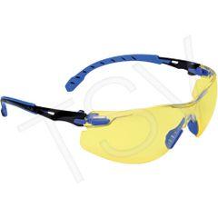 SFM405 3M Solus Protective Eyewear Scotchgard Anti-Fog CLEAR/SMOKE/AMBER (Helps Worker See Longer)
