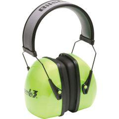 SAO695 Leightning® Hi-visibilty NRRdB 30 Earmuffs HOWARD LEIGHT #1013941 BRITE GREEN