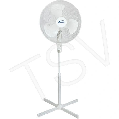"EA551 18"" Oscillating Pedestal COOLING FANS Type: Pedestal Size: 18"" No. of Speeds: 3 MATRIX"