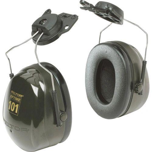 SC167 3M CAP-MOUNT PeltorTM NRRdB 24 OptimeTM 101 Series Earmuffs #H7P3E DARK GREEN