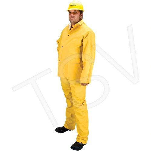 SEH106 Flame Retardant Rainsuit Met: CGSB 155.20 YELLOW (SML-4XL) #RZ600 ZENITH