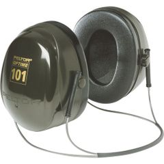 SC166 3M NECK BAND PeltorTM NRRdB 26 OptimeTM 101 Series Earmuffs #H7B DARK GREEN