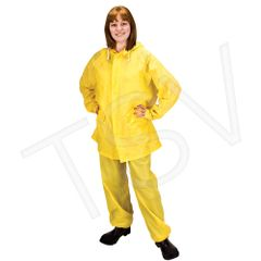 SEH092 Rainsuit Material: PVC 0.20 mmThick WITH BIB PANTS (SML-3XL) #RZ300 ZENITH